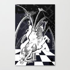 ghost rider shadow Canvas Print