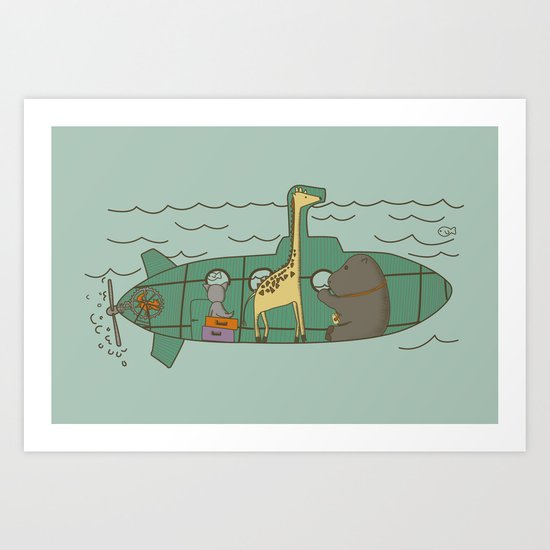 Vacations II Art Print