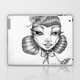JennyMannoArt Graphite Illustration/Victoria Laptop & iPad Skin