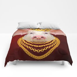 The King of Pigs Comforters