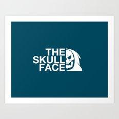 The Skull Face Art Print