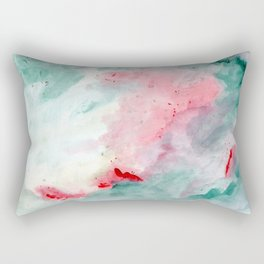 Warm swim Rectangular Pillow