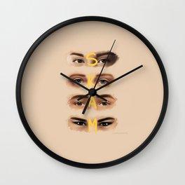 S K A M Wall Clock