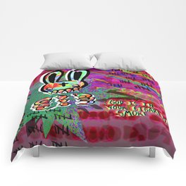 Organ Grinder Comforters