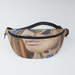 Boho Chic Hippy Queen - Colorful Fanny Pack