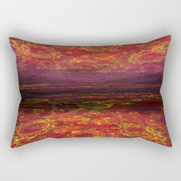 Lake of fire Rectangular Pillow
