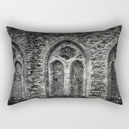 Netley Abbey. Rectangular Pillow