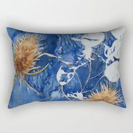 Teasels and Honesty Rectangular Pillow
