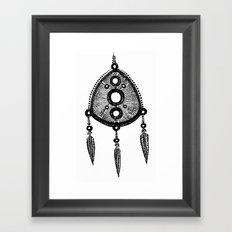 amulet Framed Art Print