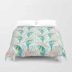 Tropical Pastels Duvet Cover