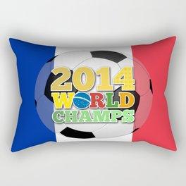 2014 World Champs Ball - France Rectangular Pillow