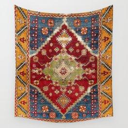 Çal Southwest Anatolian Rug Print Wall Tapestry