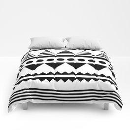 Minimalist Aztec II Comforters