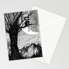Lonely Robot Stationery Cards