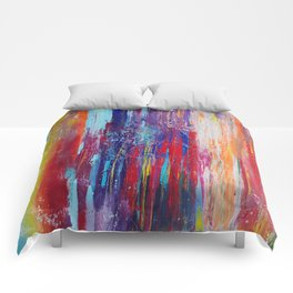 All That We Love by Nadia J Art Comforters