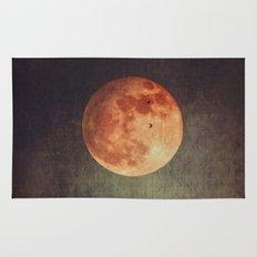 Moon over Dark Mountains Rug