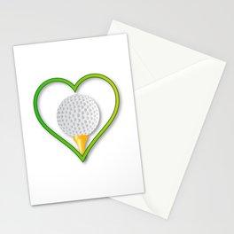 Love Golf Stationery Cards