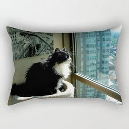 Surveying Her Realm (Gracie Queen of Chicago Collection) Rectangular Pillow