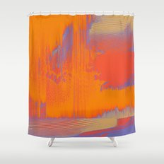 Over Cooked Shower Curtain