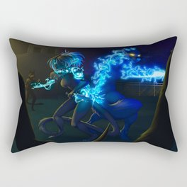 get out alive Rectangular Pillow