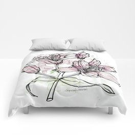 BW DAY LILY Color Splash 2 Comforters