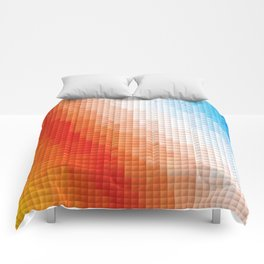 Square Color Space Comforters