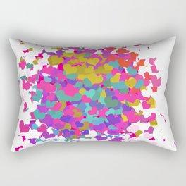 Heart leaf colorful Rectangular Pillow