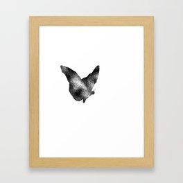Butterfly Ripple Framed Art Print