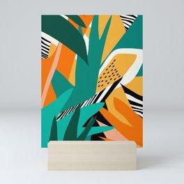Jungle Abstract Mini Art Print