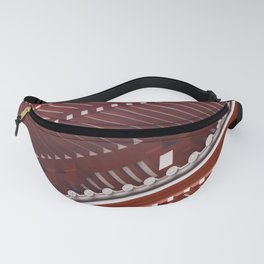 Pagoda roof pattern Fanny Pack