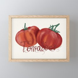 Tomaten / Tomatoes Framed Mini Art Print