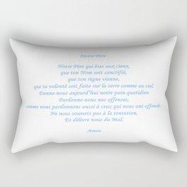 Notre Père Rectangular Pillow