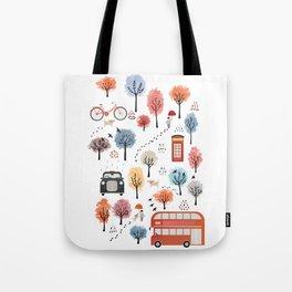 London transport Tote Bag