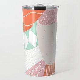 lena, patchwork quilt Travel Mug