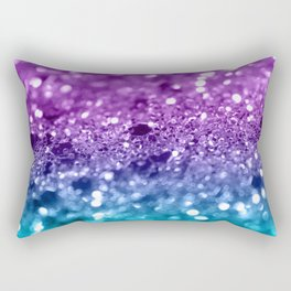 Unicorn Girls Glitter #19 #shiny #decor #art #society6 Rectangular Pillow