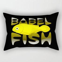 Babel fish Rectangular Pillow