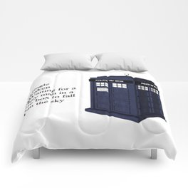 Waiting for a Man in a Blue Box || Doctor Who - Tardis Comforters