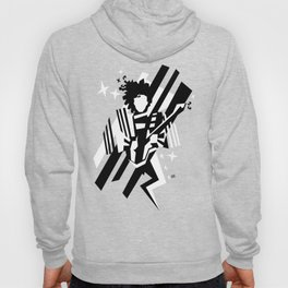 Ghost of the prince - black and white Hoody