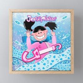 Josephine Winter Poster Framed Mini Art Print