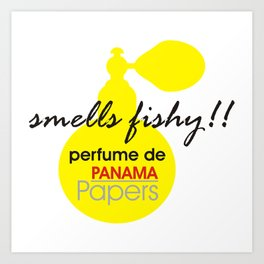 Perfume De Panama Art Print