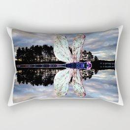 Transcending Dragonfly Rectangular Pillow