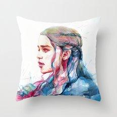 Dragonqueen Throw Pillow