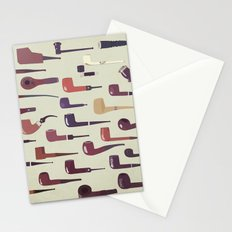 A pipe for every man Stationery Cards