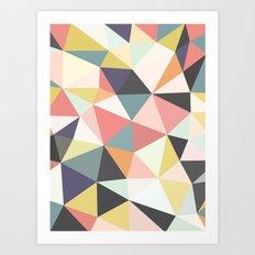 Deco Tris Art Print