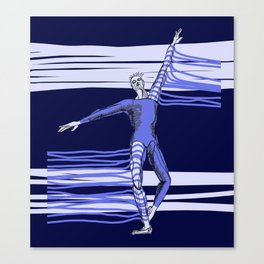 Ballet Illustrated #10 Canvas Print