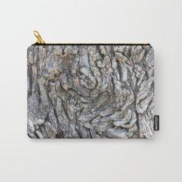 TEXTURES -- Blue Elderberry Bark Carry-All Pouch