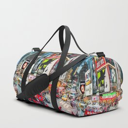 Times Square II Special Edition II Duffle Bag