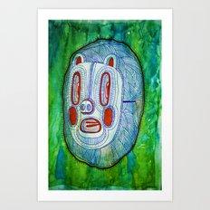 Pigmask Art Print
