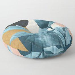 Tropical Wave II Floor Pillow