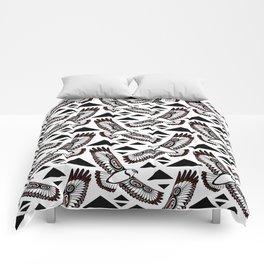 The Hawk's Flight Comforters